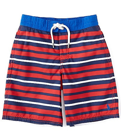 Polo Ralph Lauren Little Boys 2T-7 Stripe Sanibel Swim Trunks