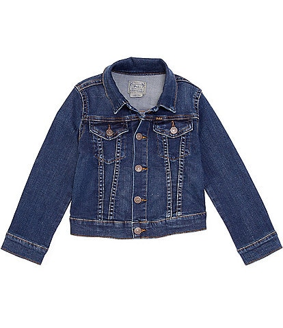Polo Ralph Lauren Little Girls 2T-6X Denim Trucker Jacket