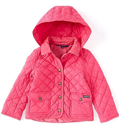 Polo Ralph Lauren Little Girls 2T-6X Removable-Hood Barn Jacket