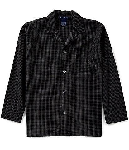 Polo Ralph Lauren Long Sleeve Woven Soho Plaid Pajama Top