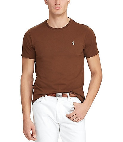 2d83416074d78 Polo Ralph Lauren Standard-Fit Short-Sleeve Crewneck Tee