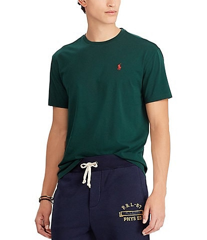 a9d1220b Polo Ralph Lauren Standard-Fit Short-Sleeve Crewneck Tee
