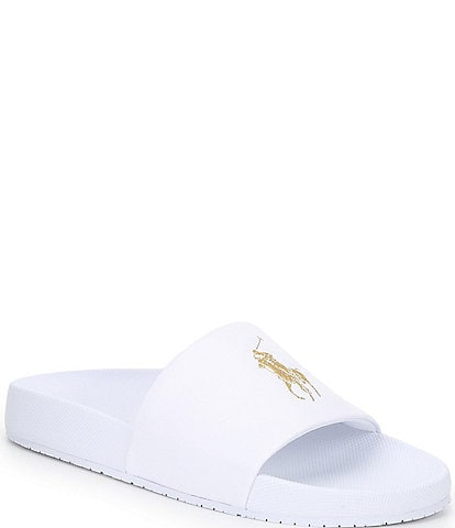 Polo Ralph Lauren Men's Cayson Logo Pool Slides