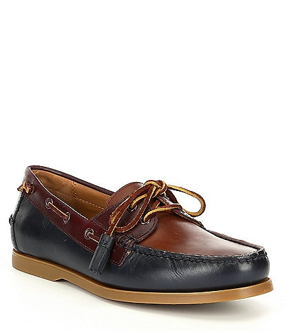 Polo Ralph Lauren Men's Merton Leather Boat Shoe