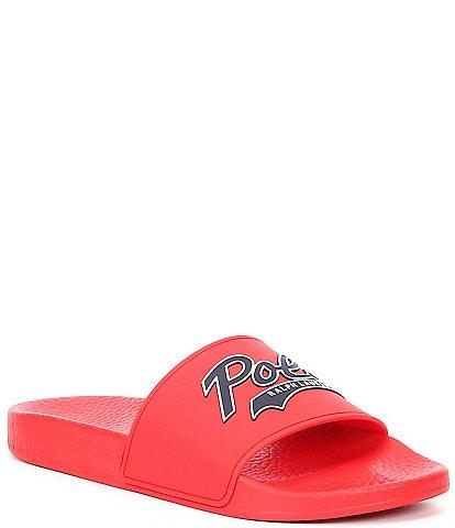 Polo Ralph Lauren Men's POLO Logo Detail Slides