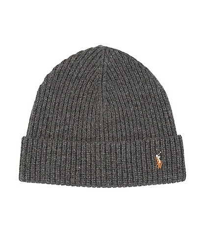 Polo Ralph Lauren Men's Signature Cuff Beanie Hat