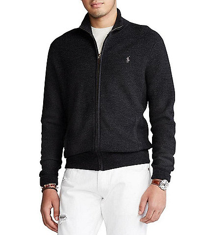 Polo Ralph Lauren Merino Wool Full-Zip Sweater