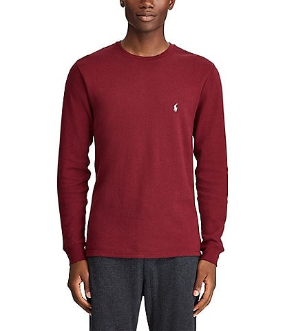 Polo Ralph Lauren Midweight Waffle Crew Neck Sleep Top