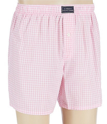 Polo Ralph Lauren Mini Gingham Woven Boxers
