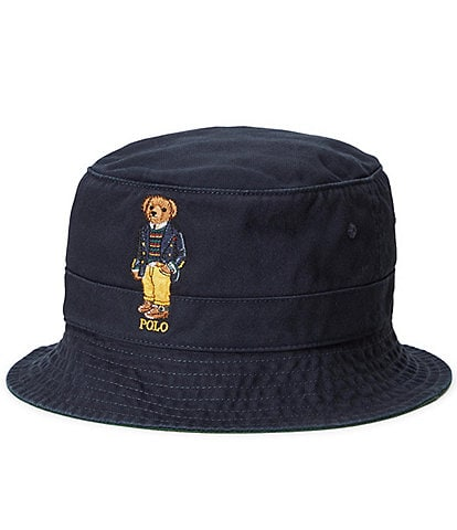 Polo Ralph Lauren Solid Polo Bear Chino Bucket Hat