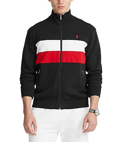 Polo Ralph Lauren Polo Black Interlock Track Jacket