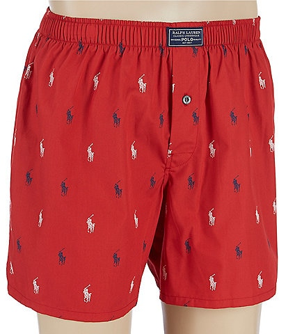 Polo Ralph Lauren Polo Player Logo Woven Boxers
