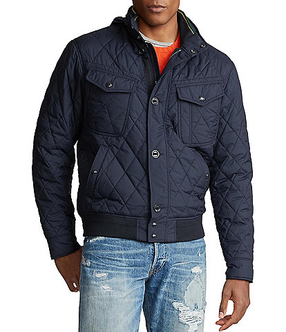 Polo Ralph Lauren Quilted Bomber Jacket