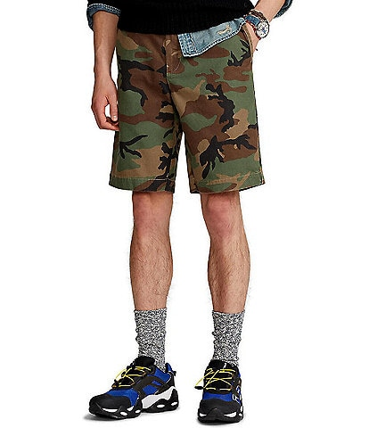Polo Ralph Lauren Relaxed-Fit Camo 10#double; Inseam Chino Shorts