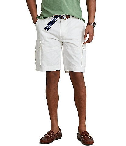 Polo Ralph Lauren Relaxed-Fit 10 1/2#double; Inseam Cargo Shorts