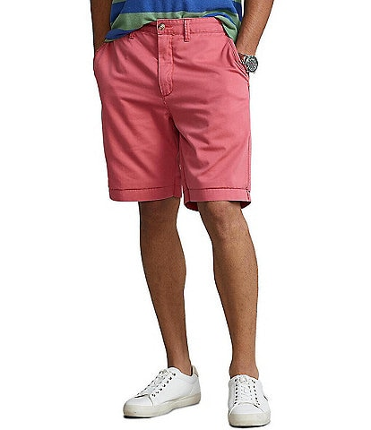Polo Ralph Lauren Relaxed-Fit Twill 10#double; Inseam Surplus Shorts