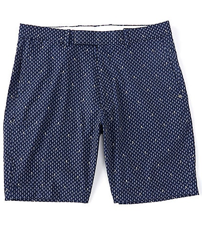Polo Ralph Lauren RLX Golf Classic-Fit Anchor Print Performance Stretch 9#double; Inseam Shorts