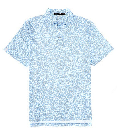 Polo Ralph Lauren RLX Golf Classic-Fit Floral Performance Stretch Short-Sleeve Polo Shirt