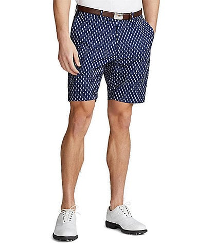 Polo Ralph Lauren RLX Golf Classic-Fit Pineapple Print Performance Stretch 9#double; Inseam Shorts