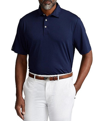 Polo Ralph Lauren RLX Golf Classic-Fit Solid Performance Stretch Short-Sleeve Polo Shirt