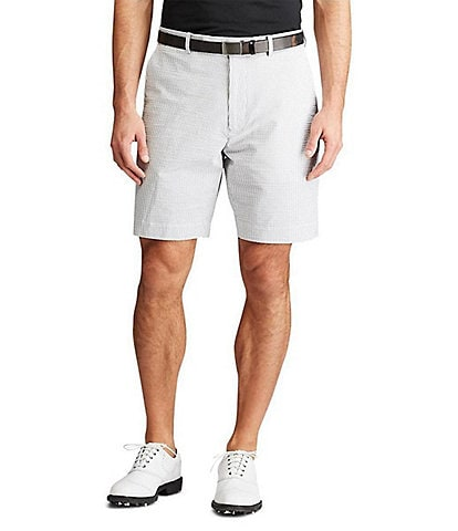 Polo Ralph Lauren RLX Golf Stretch Seersucker 9#double; Inseam Shorts