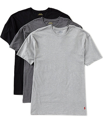 Polo Ralph Lauren Slim Fit Assorted Crew Tees 3-Pack