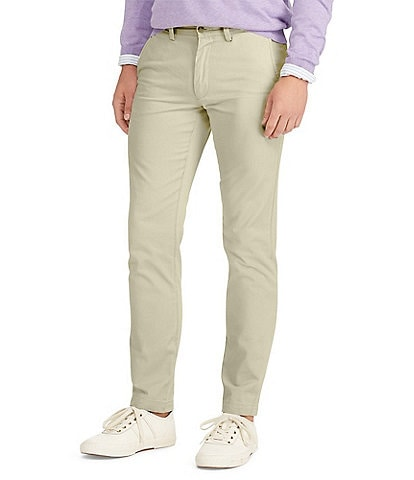 Polo Ralph Lauren Slim-Fit Flat-Front Chino Pants