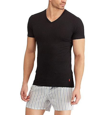 Polo Ralph Lauren Slim Fit V-Neck Tees 3-Pack