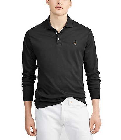 Polo Ralph Lauren Soft-Touch Long-Sleeve Polo Shirt