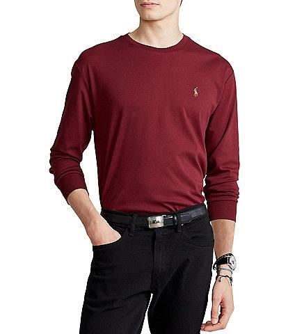 Polo Ralph Lauren Classic-Fit Soft Cotton Long-Sleeve Tee