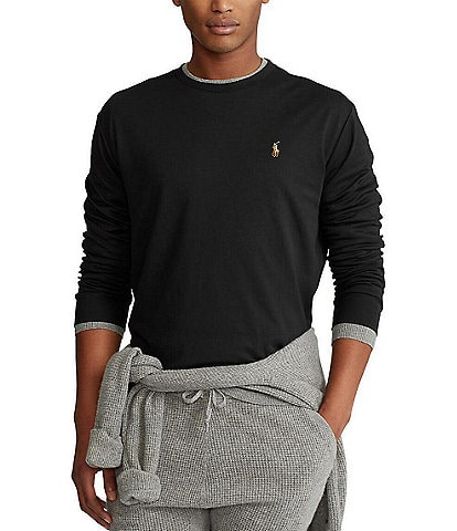 Polo Ralph Lauren Soft-Touch Interlock Long-Sleeve Tee