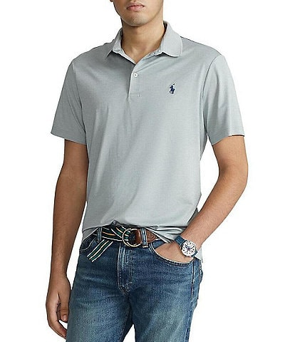 Polo Ralph Lauren Solid Jersey Performance Short-Sleeve Polo Shirt