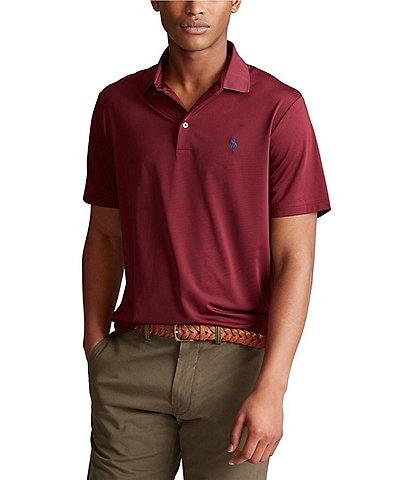 46d07f8ae3b73a Polo Ralph Lauren Solid Jersey Performance Short-Sleeve Polo Shirt