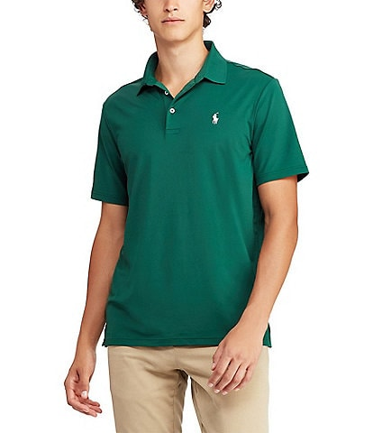 Polo Ralph Lauren Solid Short-Sleeve Performance Polo Shirt 09a7c318d6ea3