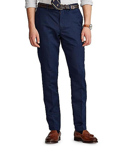 Polo Ralph Lauren Straight-Fit Linen Pants
