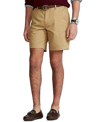 Polo Ralph Lauren Straight-Fit Stretch 8#double; Inseam Shorts