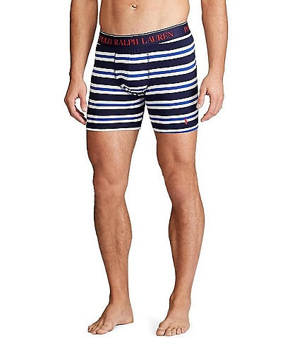 Polo Ralph Lauren Stripe Cotton Stretch Boxer Briefs