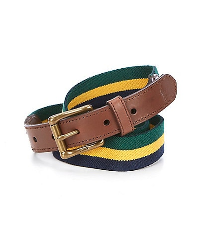 Polo Ralph Lauren Striped Elastic Casual Belt