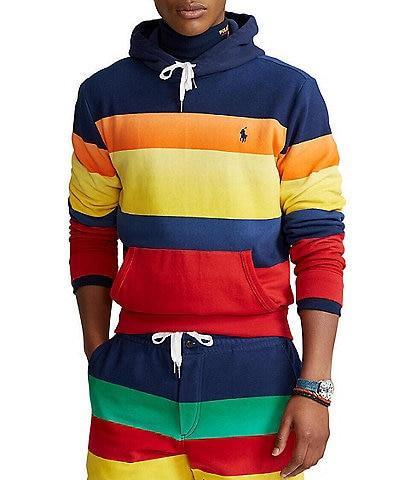 Polo Ralph Lauren Striped Fleece Hoodie