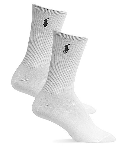 Polo Ralph Lauren Super-Soft Crew Socks 2-Pack