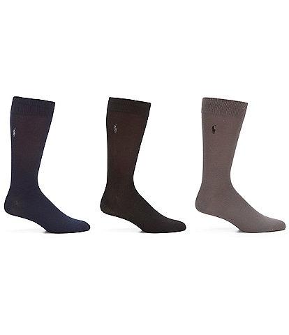 Polo Ralph Lauren Super Soft Dress Socks 3-Pack