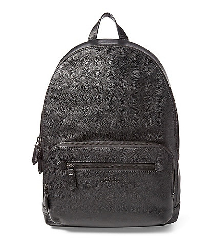 Polo Ralph Lauren Tailored Pebble Leather Backpack