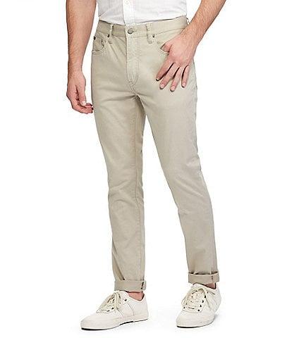 Polo Ralph Lauren Varick Slim-Fit Sateen Stretch Pants