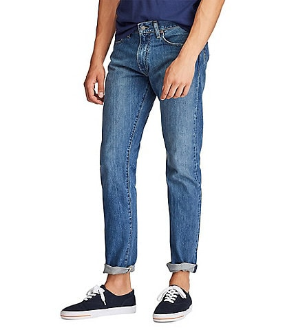 Polo Ralph Lauren Varick Slim-Straight Stanton Medium Denim Jeans