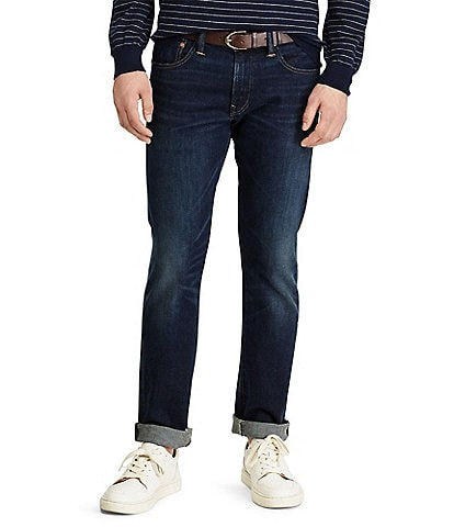 Polo Ralph Lauren Varick Slim-Straight Stretch Denim Jeans