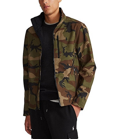 Polo Ralph Lauren Water-Repellent Camo Jacket