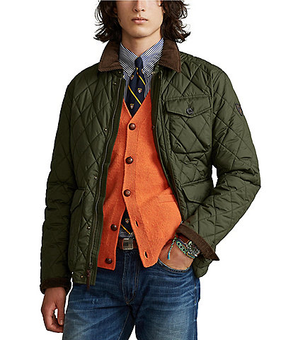 Polo Ralph Lauren Water-Repellent Quilted Beaton Jacket