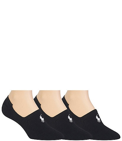 Polo Ralph Lauren Women's 3-Pack Sneaker Liner Socks