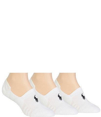 Polo Ralph Lauren Women's 3-Pack Sneaker Liner Socks