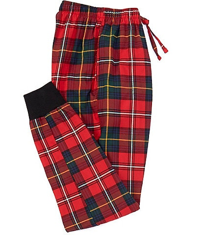 Polo Ralph Lauren York Plaid Flannel Joggers